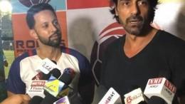 Harpreet Baweja and Arjun Rampal