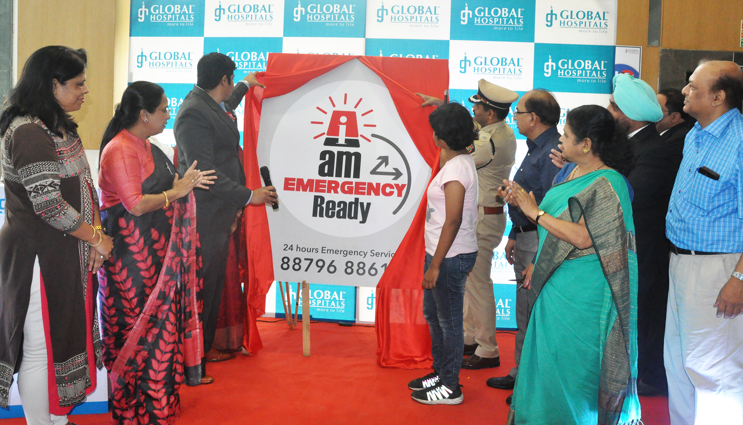 Launch of I Am Emergency Campaign