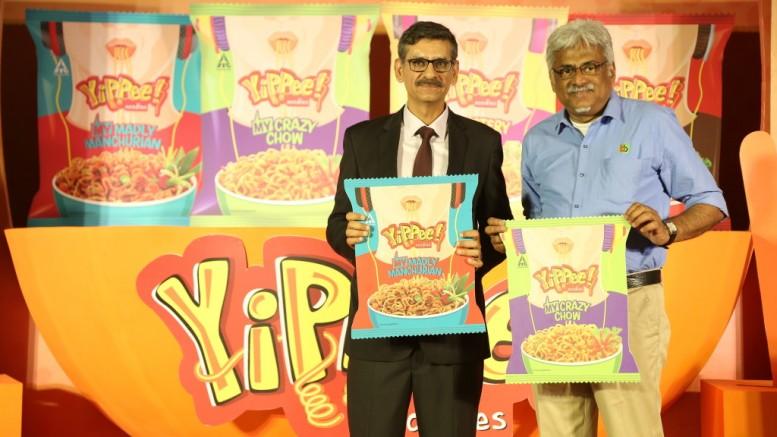 Launch-of-ITCs-Sunfeat-YiPPee-My-Range-with-L-R-Hemant-Malik-Divisional-Chief-Executive-Food-DivisionITC-Ltd.-Hari-Menon-Co-founder-CEO-Bigbasket-2-1-1024x683.jpg November 17, 2018