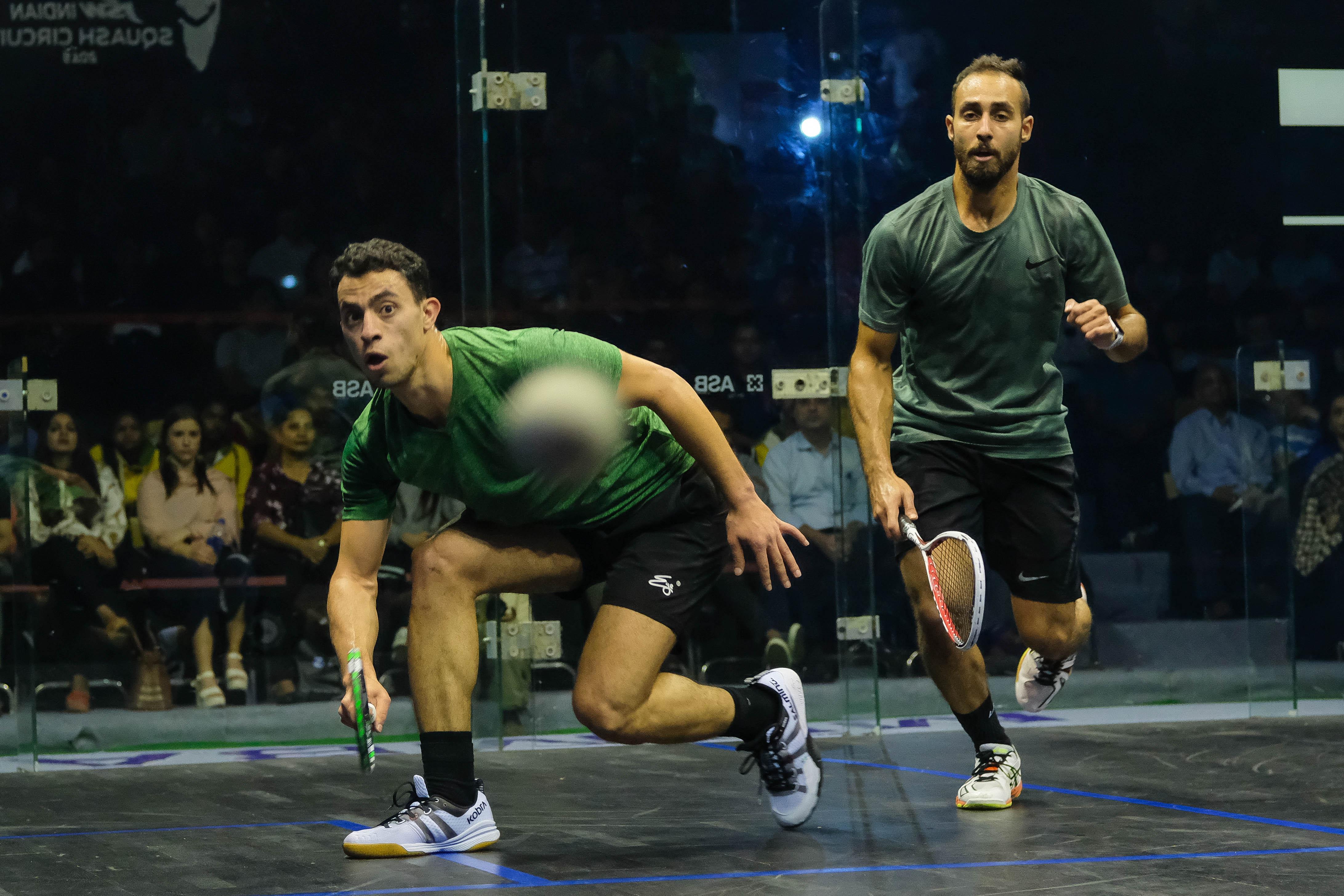 [4] Fares Dessouky (EGY) beat Karim El Hammamy (EGY) | 11-3, 11-1, 11-5 | 26 mins_1