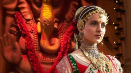 Celebrity Kangana Ranaut in Amrapali Jewellery for the movie - Manikarnika.
