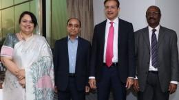 Chhaya Sehgal, Rajesh Sharma, Murtuza Khorakiwala, EA Vimal Nathan