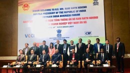 Dr Sunita Dube from Medscapeindia joins President of India delegation in Vietnam1