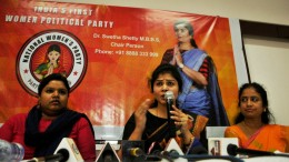 Dr Swetha Shetty M B B S National President of National Womens Party (NWP) jpg