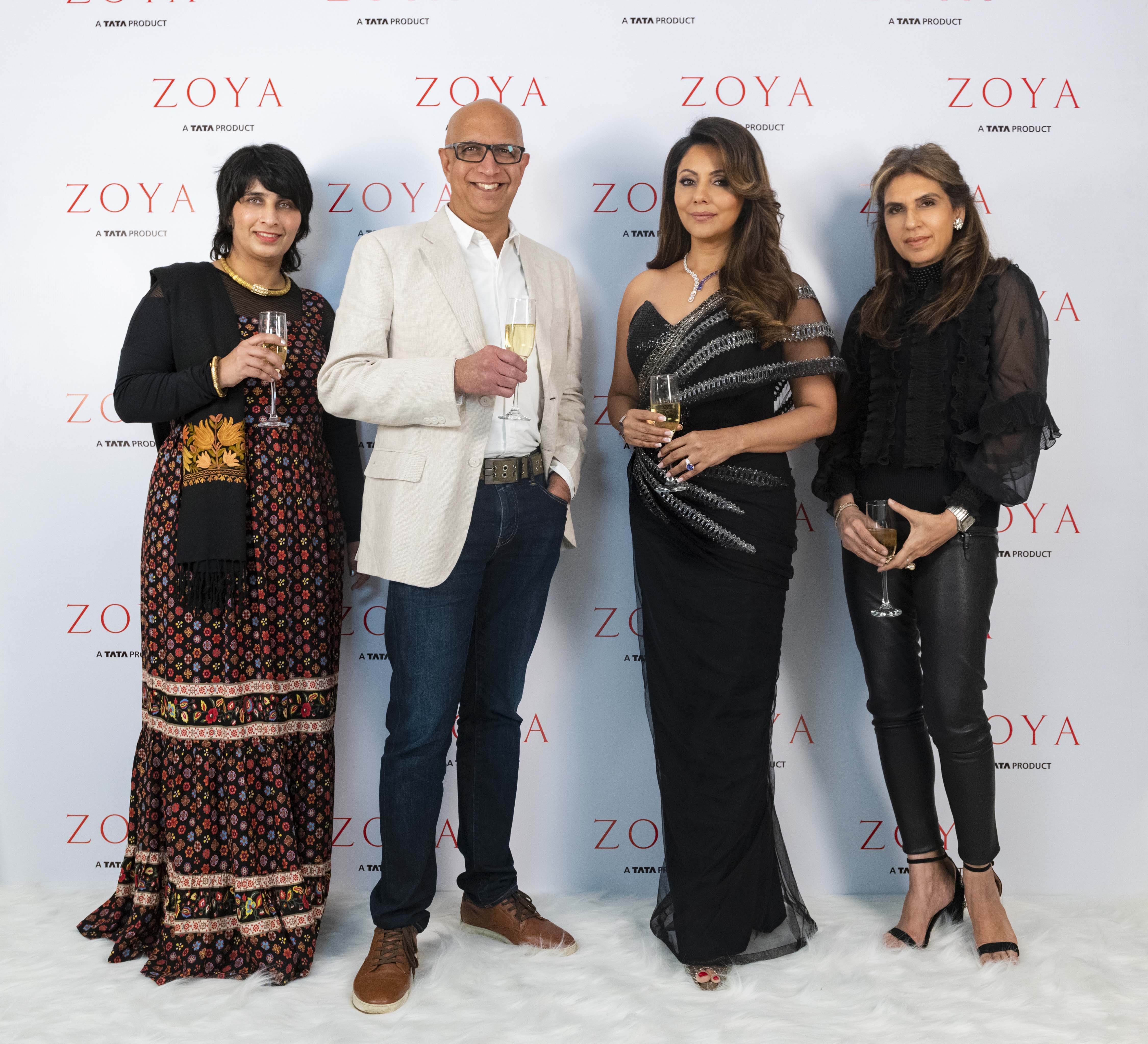 Sangeeta Deewan , C K Venkatraman , Gauri Khan and Monisha Jaisingh at Zoya south ex store jpg