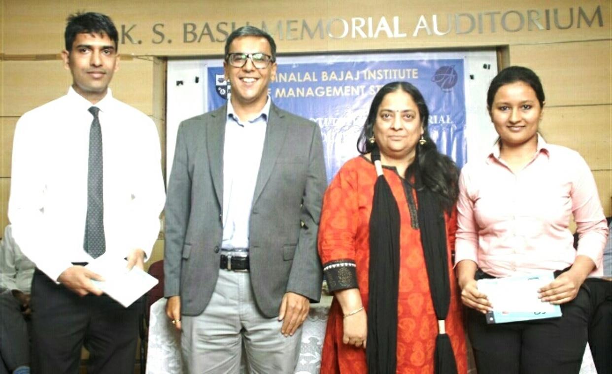 Bhimsingh Rajpurohit, Mr. Nimish Dwivedi, Dr. Kavita Laghate, Rutuja Dharkar (1)