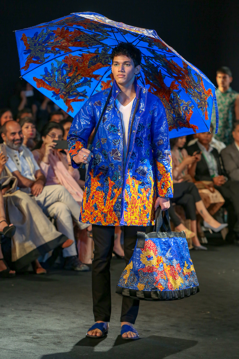 Circular Design Challenge in collaboration with UN Environment on Day 2 at the Lakme Fashion Week Summer Resort 2019 at Jio Garden in Mumbai, India on January 31, 2019. Photo : FS Images / Lakme Fashion Week / IMG Reliance
