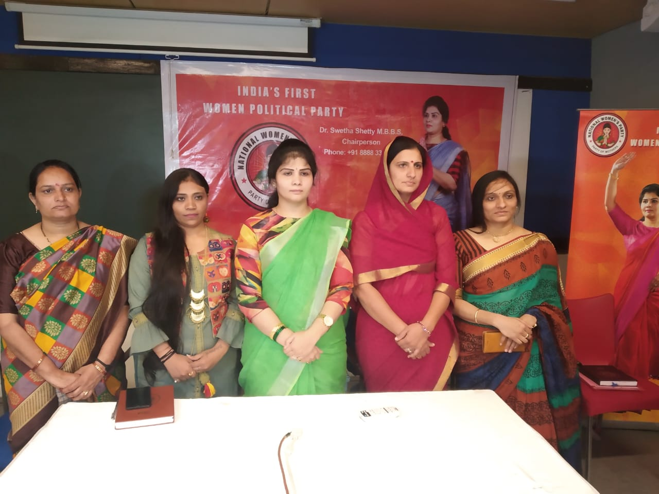 Dr Swetha Shetty, MBBS, Chairperson, National Women's Party
