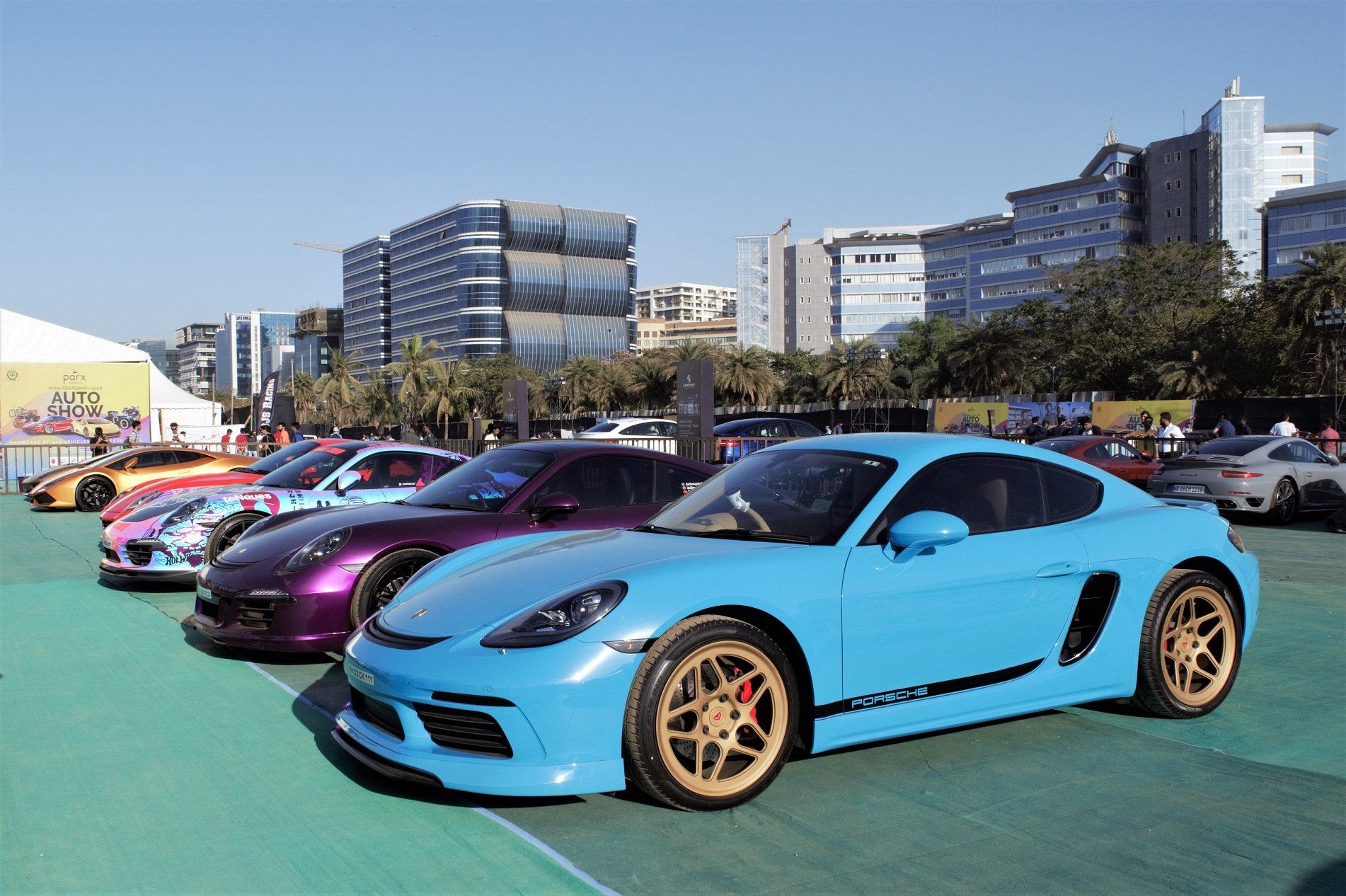 Super cars displayed at Parx Auto Show 2019