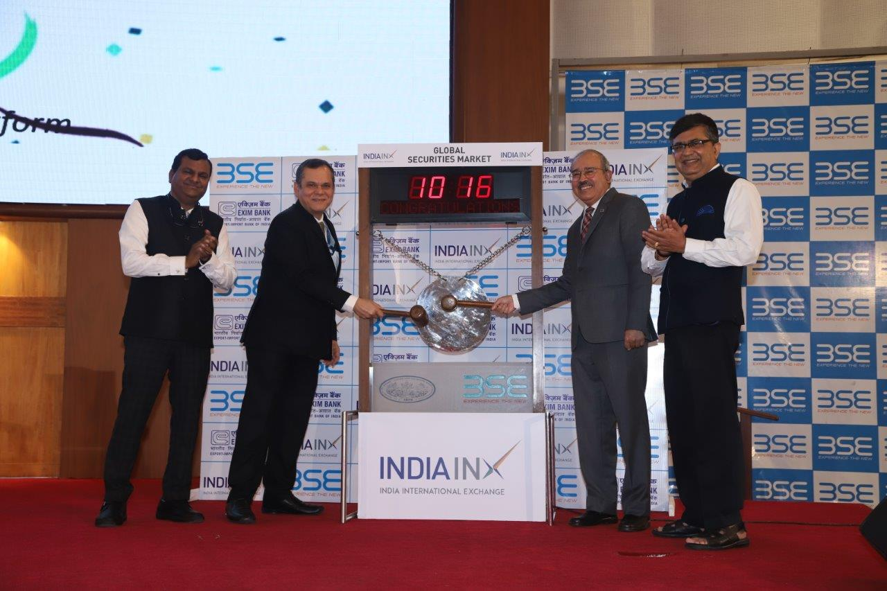 EXIM bank gets listed on India INX Platform (1)
