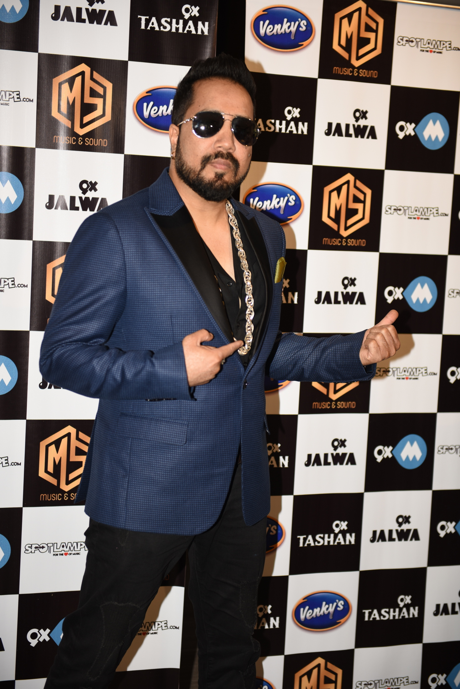 1. Mika Singh during his new single BELLY RING song launch KPP_9014
