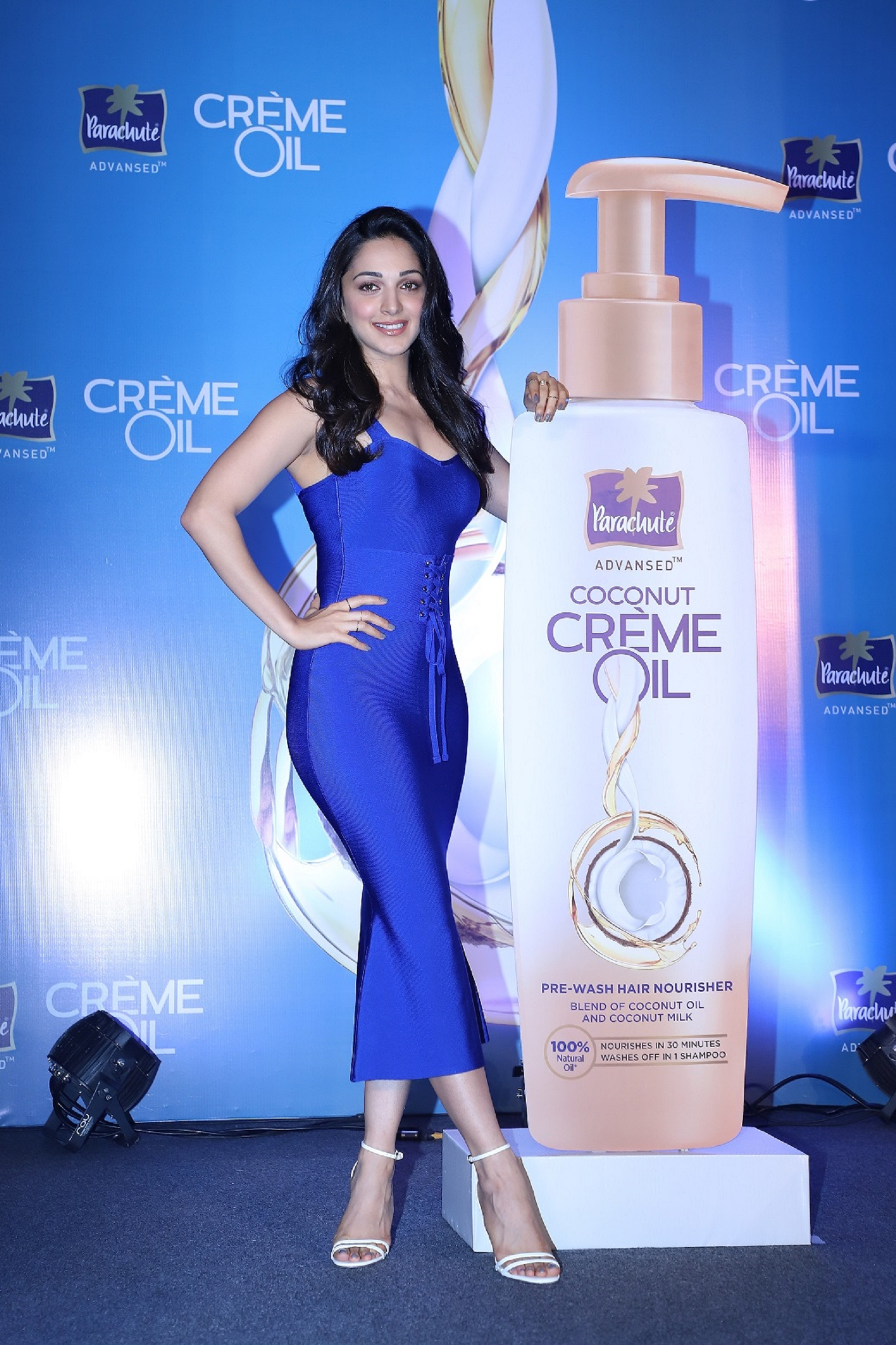 Kiara Advani at the unveiling of Parachute Advansed Coconut Creme Oil, a new age solution to oiling_1