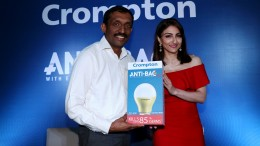 Mathew Job CEO CGCEL along with Soha Ali Khan launches futuristic Anti-B...
