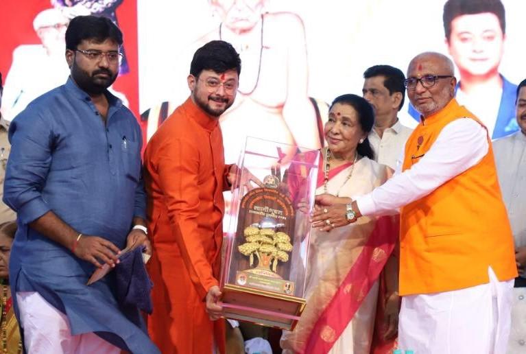 Amolraje Janmejayraje Bhosale, Swwapnil Joshi, Asha Bhosle, Janmejayraje Vijaysinhraje Bhosale